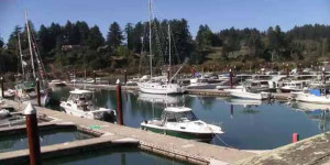 Marina in Brookings, OR